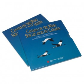1995 Canada On The Wing 50-Cent Birds of Canada: Gray Jay, White-tailed Ptarmigan Silver 2-Coin Set