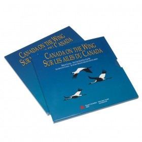 1995 Canada On The Wing 50-Cent Birds of Canada: Atlantic Puffin, Whooping Crane Silver 2-Coin Set