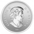 2012 Canada Silver-Plated 50 Cent Coin - The Queen's Diamond Jubilee Emblem