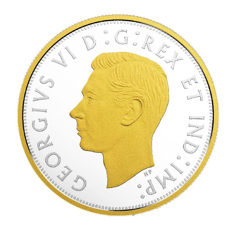 2018 1943 Canadian 50 Cent 1943 Renewed Half Dollar