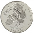 1995 Canada On The Wing 50-Cent Birds of Canada Silver 4-Coin Set