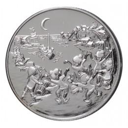 2001 Canada Sterling Silver 50 Cent Coin - Folklore & Legends: Les Petits Sauteux