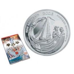 2003 Canada Sterling Silver 50 Cent Coin - New Brunswick Festival Acadien de Caraquet
