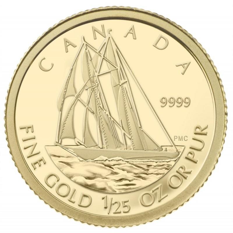 De Havilland Beaver RCM 2008 50-Cent Canada 1//25 Oz .9999 Proof Gold Gold