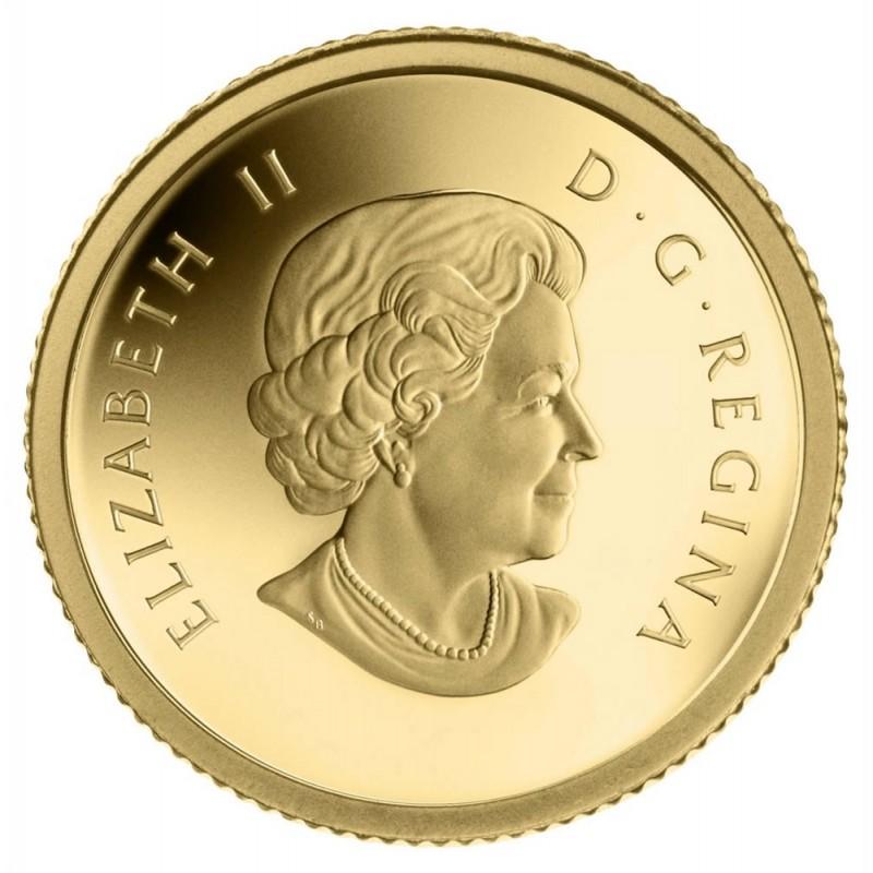 2013 Canada 1 25 Oz Pure Gold 50 Cent Coin Starfish