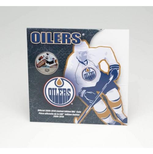 2009 2010 Nhl On Ice 50 Cent Coin Edmonton Oilers