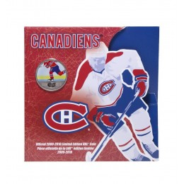 2009-2010 Canada NHL® On-Ice 50 Cent Coin - Montreal Canadiens