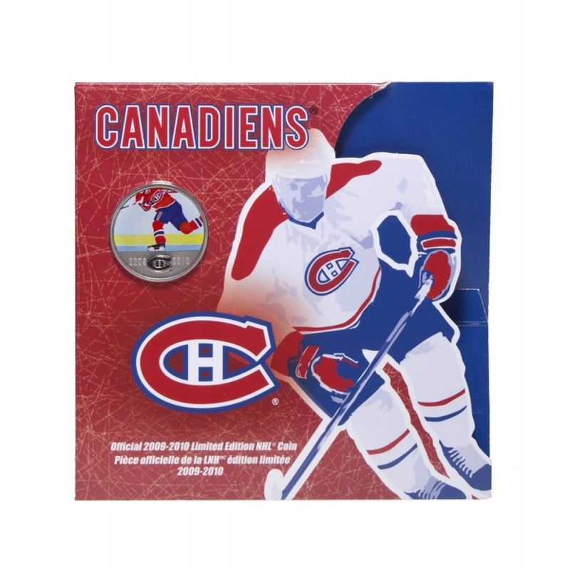 2009-2010 Edmonton Oilers Coin Gift Set with Commemorative 50 Cents