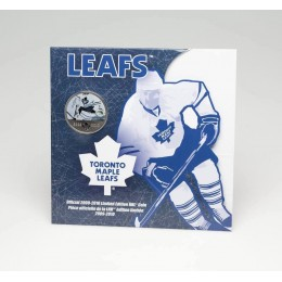 2009-2010 Canada NHL® On-Ice 50 Cent Coin - Toronto Maple Leafs