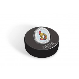 2009 Canada NHL® Puck & 50 Cent Coin Set - Ottawa Senators
