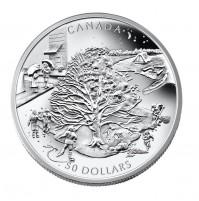 2006 Fine Silver 50 Dollar Coin - Four Seasons