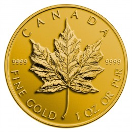2014 Canadian $50 Maple Leaf - 1 oz Pure Gold Coin