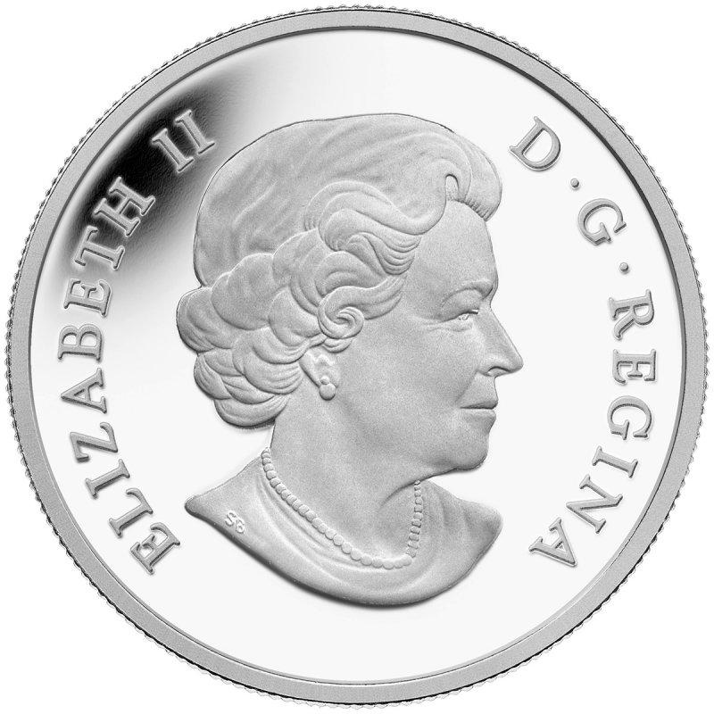 Canada 2014 $50 for $50 Iconic Polar Bear Pure Silver Coin