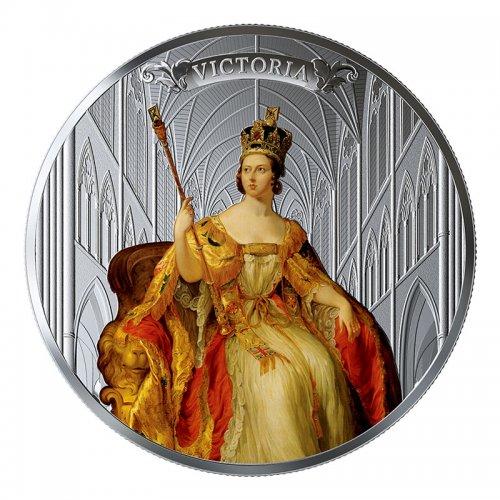2019 Canadian $50 Birth of Queen Victoria 200th Anniv 5 oz Silver Coloured Coin