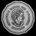 2019 Canadian $50 Centennial Flame - 3 oz Fine Silver Coin