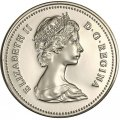 1981 Canadian 5-Cent Beaver Nickel Coin (Brilliant Uncirculated)