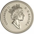 1990 Canadian 5-Cent Beaver Nickel Coin (Brilliant Uncirculated)