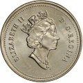 1994 Canadian 5-Cent Beaver Nickel Coin (Brilliant Uncirculated)
