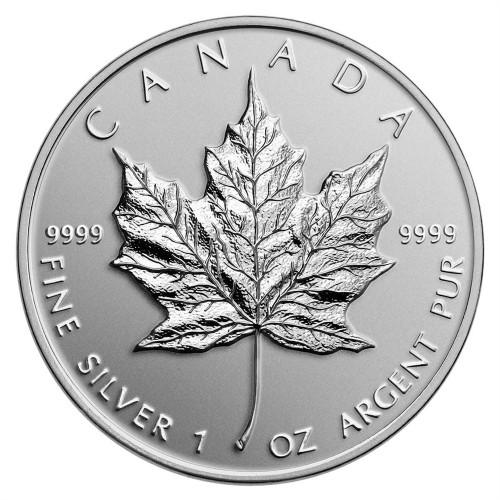 1 Oz Canadian Silver Maple Leaf Value