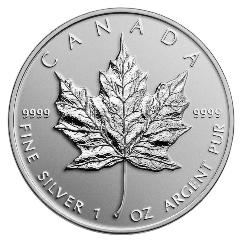 2014 Canadian 1oz Fine Silver Maple Leaf