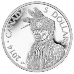 2014 Canadian $5 Portrait of Nanaboozhoo - 1/10 oz Fine Platinum Coin