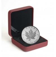 2015 Fine Silver 5 Dollar Coin -  Maple Leaf ANA Privy: Chicago Violet