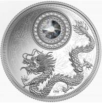 2016 Fine Silver 5 Dollar Coin - Birthstone Series: April