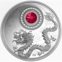 2016 Fine Silver 5 Dollar Coin - Birthstone Series: July