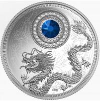 2016 Canada Fine Silver 5 Dollar Coin - Birthstone Series: September