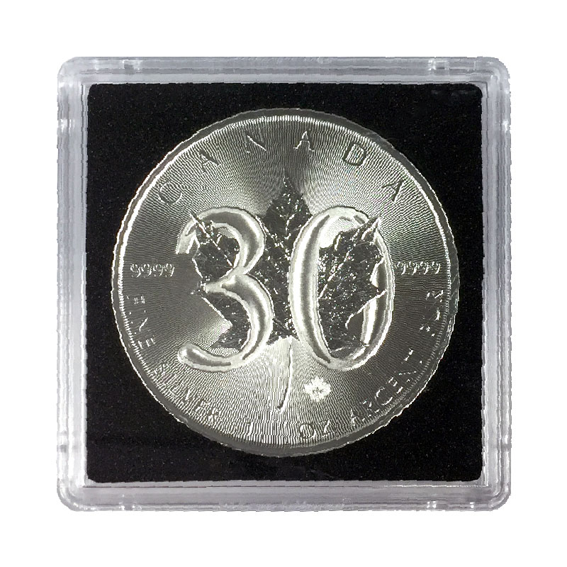 2018 1988 Canadian 5 30th Anniversary Of Silver Maple