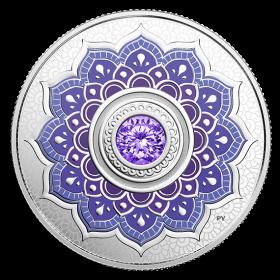 2018 Canadian $5 Birthstones: December Swarovski® Crystal & Silver Coin
