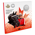 2020 Canadian $5 Moments to Hold: Celebrating 100 Years of the RCMP as Canada's National Police Force - 1/4 oz Fine Silver Coin