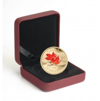 2010 14-Karat Gold 75 Dollar Coin - Fall Maple Leaf