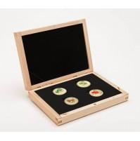 2010 14-Karat Gold 75 Dollar Coins - Complete Set of 4 'Maple Leaf' Coins (Spring, Summer, Fall, Winter)
