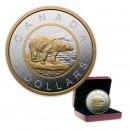 2015 Canada Big Coin Series $2 Polar Bear - 5 oz Fine Silver Coin