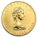 1 oz Canada Gold Maple Leaf Bullion Coin - Random Year