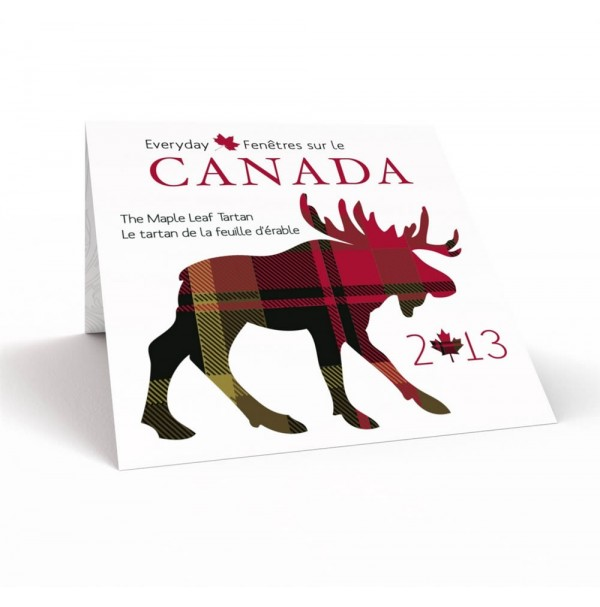 2013 Commemorative Gift Set - Everyday Canada: The Maple Leaf Tartan