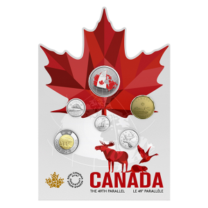 2018 Canadian From Far and Wide 6-Coin Circulation Gift Set ft. 50-Cent Glow In The Dark