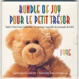 1995 Canadian Bundle of Joy Baby's First Coin Collection Gift Set