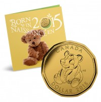 2015 Canada Baby Coin Gift Set - Teddy Bear