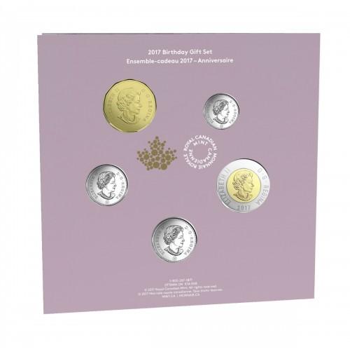 2017 Birthday Coin Gift Set
