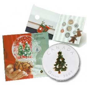 2007 Canada Holiday Coin Gift Set