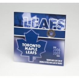 2007 Canada NHL® Coin Gift Set - Toronto Maple Leafs