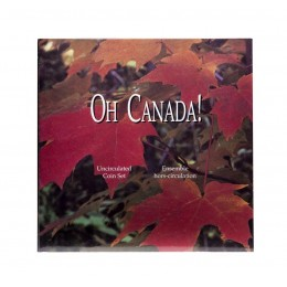 1997 Oh! Canada Uncirculated Coin Set