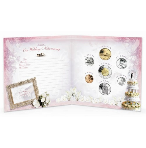 2004 Wedding Coin Gift Set