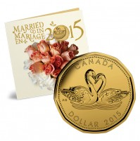2015 Wedding Gift Coin Set - Swans
