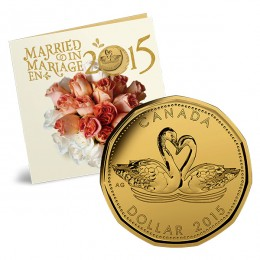 2015 Canada Wedding Gift Coin Set - Swans