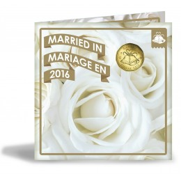 2016 Canadian Wedding Coin Gift Set