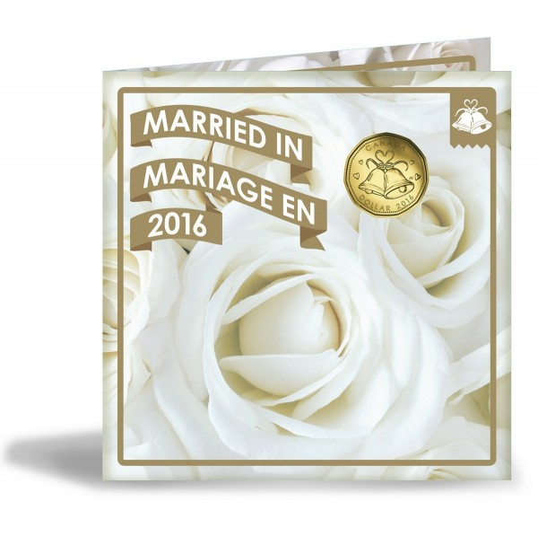 2016 Wedding Coin Gift Set