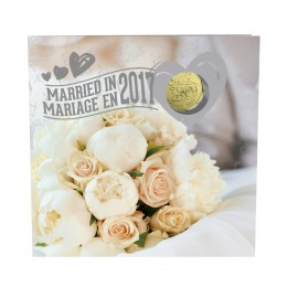 2017 Canada Wedding Coin Gift Set